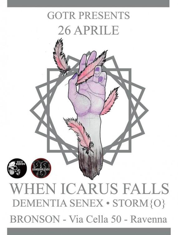 when icarus falls - ravenna - 2014