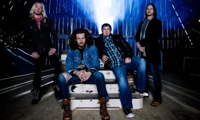 Black Stone Cherry - band - 2014