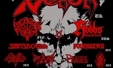 Faust Extreme Fest - Flyer - 2014