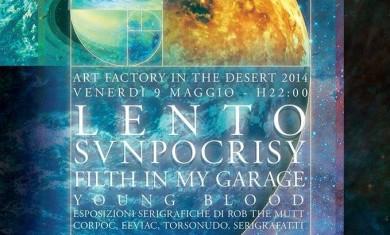 Lento-Sunpocrisy - locandina - 2014