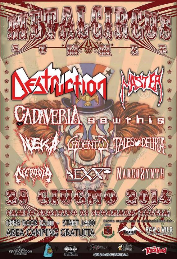 Metal Circus Summer 2014