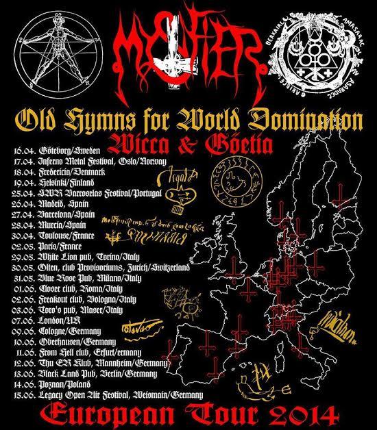 Mystifier - euro tour 2014 - flyer