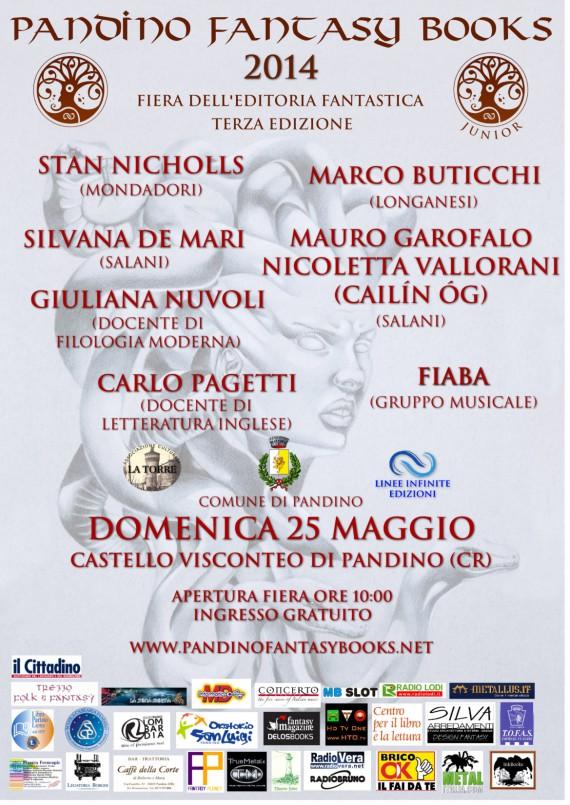Pandino Fantasy Books 2014 - locandina_completa - 2014