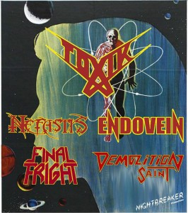 Toxik Endovein White Lion - flyer concerto - 2014