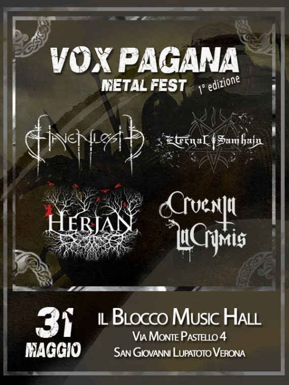 VOX PAGANA METAL FEST - 2014