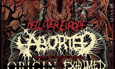 aborted origin - tour 2014