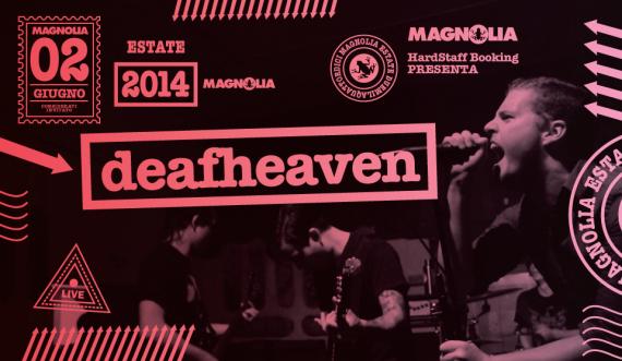 deafheaven - circolo magnolia - 2014
