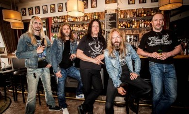 hammerfall - band - 2014