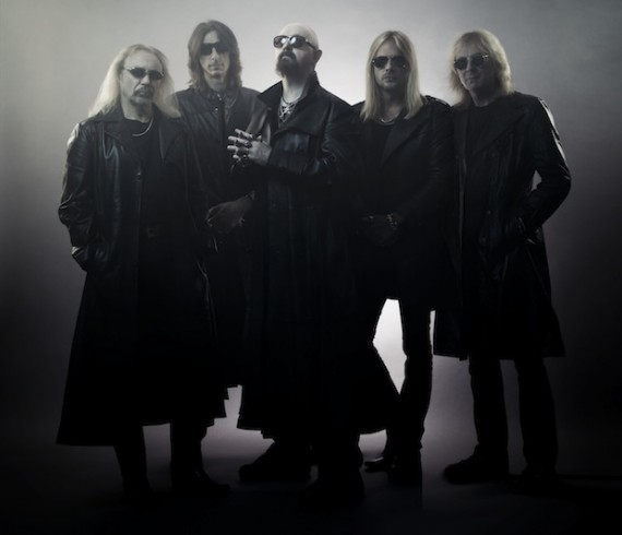 judas priest - band - 2014