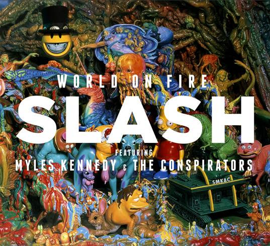 slash - world on fire - 2014