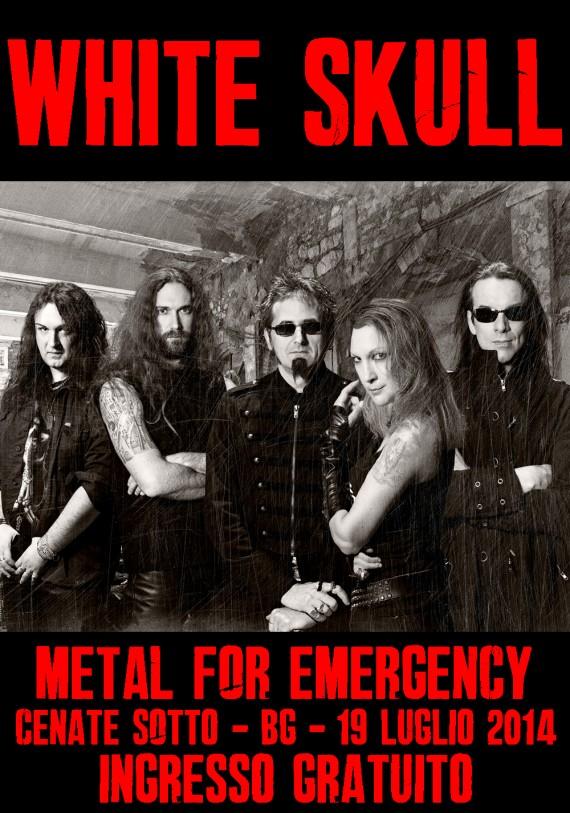 white-skull-metal for emergency 2014