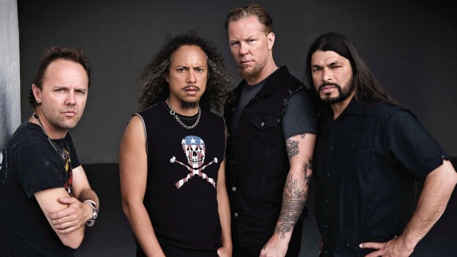 metallica - band - 2014