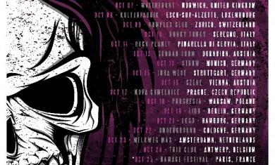 ESCAPE THE FATE - TOUR - 2014