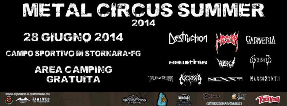 Metal Ciurcus Summer 2014