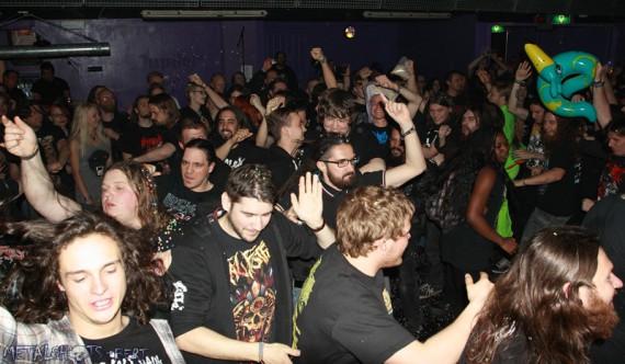 Neurotic Deathfest 2014 - crowd 2