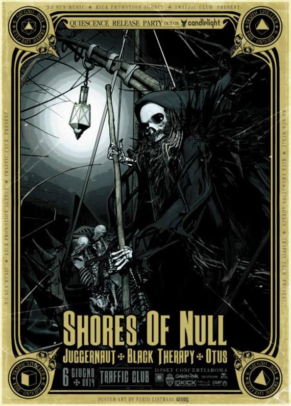 Shores Of Null - flyer grande - 2014
