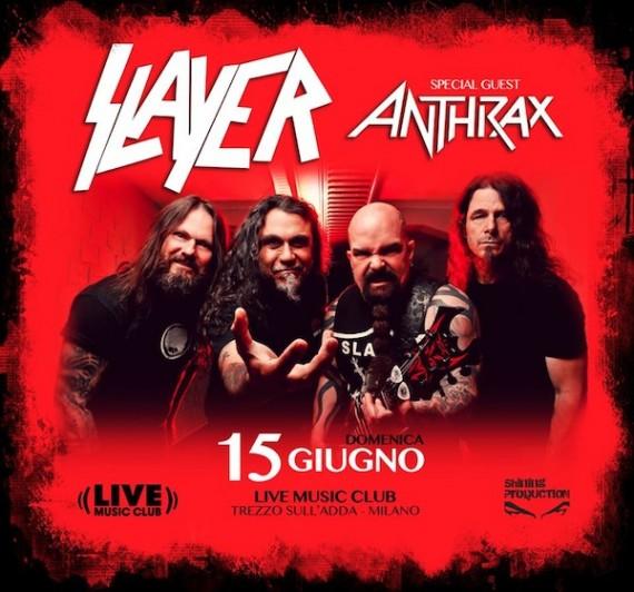 Slayer - locandina - 2014