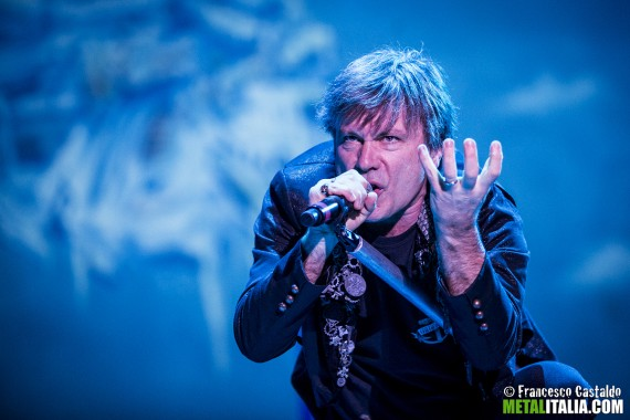 Iron Maiden - Bruce Dickinson live Rock In Idro 2014