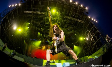Iron Maiden- Rock In Idro 2014
