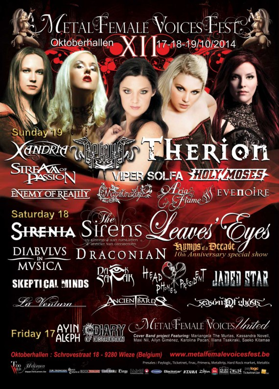 metal female voices fest 2014