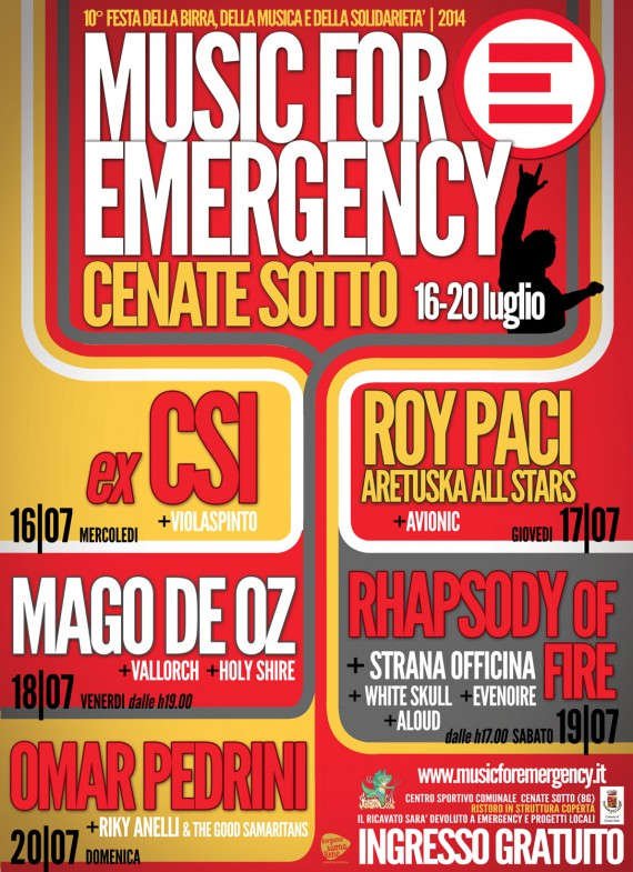 metal for emergency 2014 - fronte