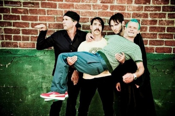red hot chili peppers - band - 2014