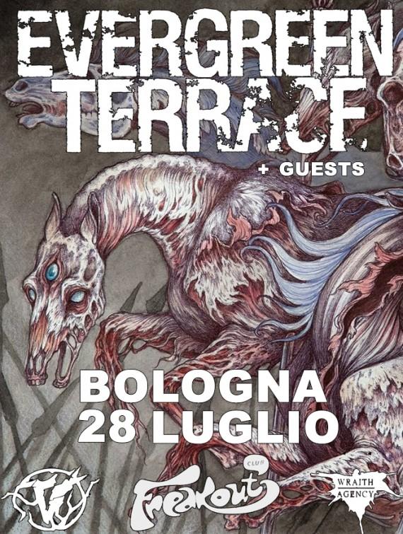 EVERGREEN TERRACE - locandina bologna - 2014
