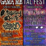 GAMAMETAL FEST: il bill completo dell'evento