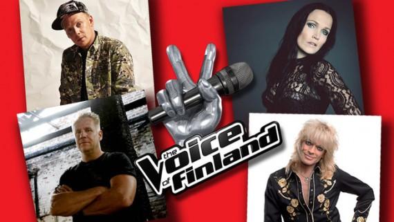 The Voice Of Finland - locandina - 2014