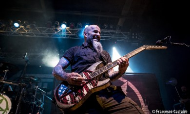 anthrax - scott ian live club trezzo - 2014