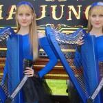 "BLIND GUARDIAN: ""The Bard's Song"" eseguita da due arpiste"