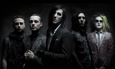 motionless in white - band - 2014