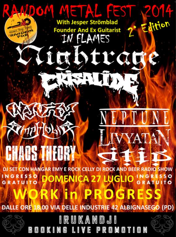 random metal fest 2014