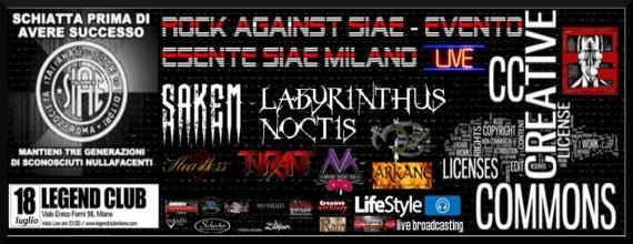 rock against siae 2014