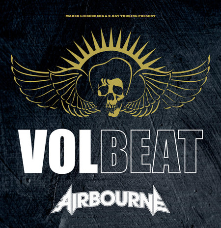 volbeat airbourne - live - 2014