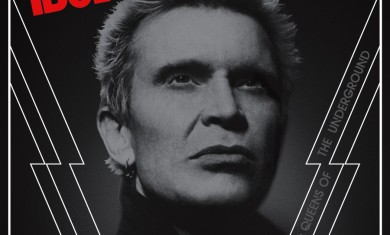 Billy Idol - copertina album kings and queens of the underground - 2014