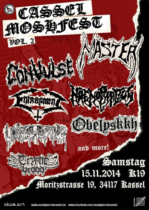 Cassel Moshfest Vol.2 - flyer