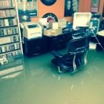 La sede della Small Stone Records colpita da una violenta tempesta