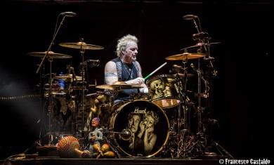 aerosmith - Joey Kramer live milano - 2014