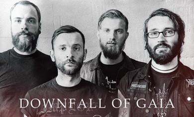 downfall of gaia - band - 2014