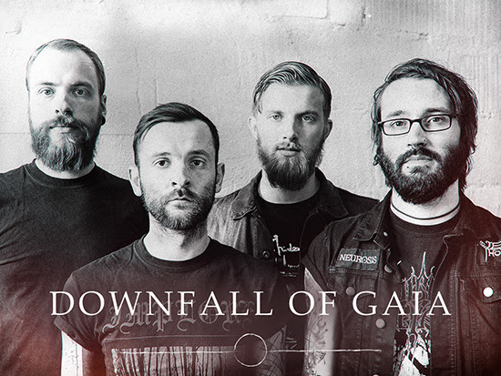 downfall of gaia - band - 2014