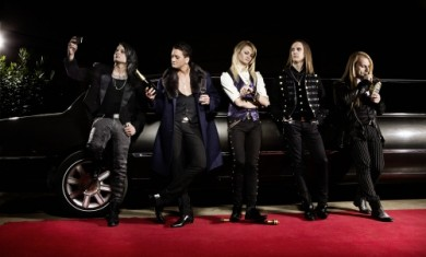kissin dynamite - band - 2014