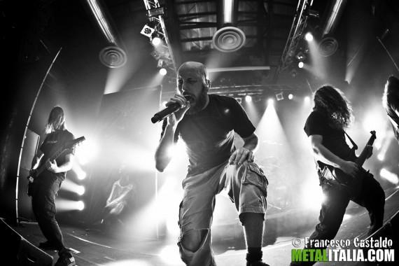 meshuggah - live milano 2012