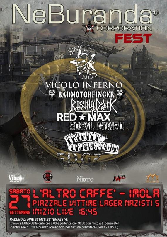 neburanda 2014 Locandina Fest