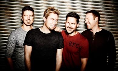 nickelback - band - 2014