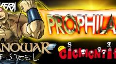 PROPHILAX, NANOWAR OF STEEL, CIEMENTIFICIO: biglietto omaggio