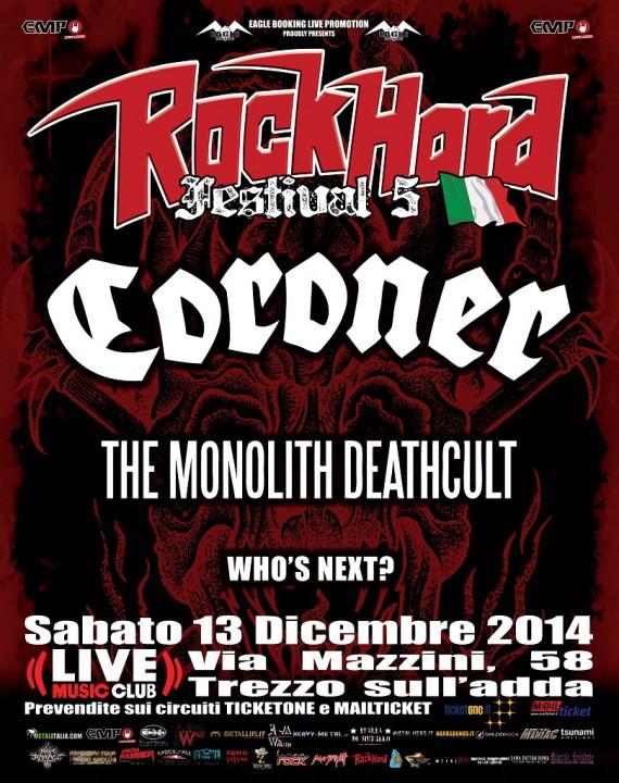 rock hard festival italia 2013 - prima locandina