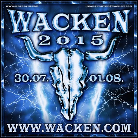 wacken open air 2015 - logo