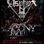 ASPHYX: date a Roma e Brescia
