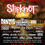 FIVE FINGER DEATH PUNCH, KILLSWITCH ENGAGE, KING 810 e altri: video professionali dal Knotfest